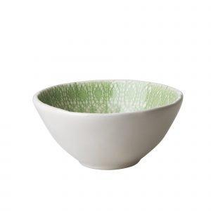 Rice Lace Print Lautanen Keraaminen Vihreä 16 Cm