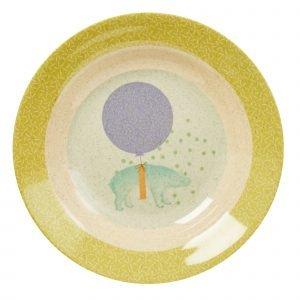 Rice Lasten Kulho Animal Print Vihreä