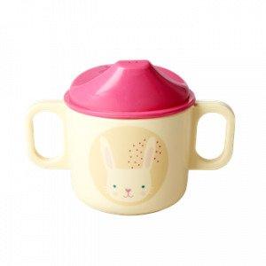 Rice Lasten Muki Melamiini Vaaleanpunainen