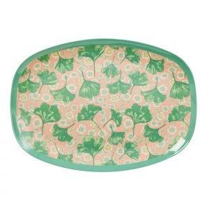 Rice Lautanen Leaves & Flower 30x22 Cm