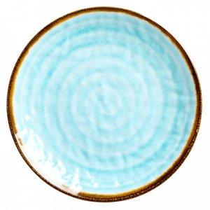Rice Lautanen Vesipyörre Melamiini Sininen