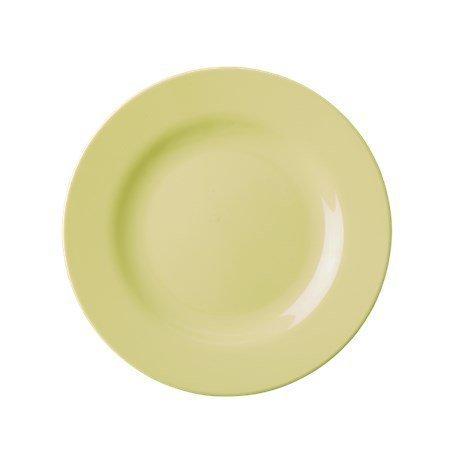 Rice Melamine Round Side Plate Pastel Yellow ø 20 cm