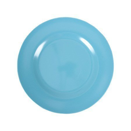 Rice Melamine Round Side Plate Turquoise ø 20 cm