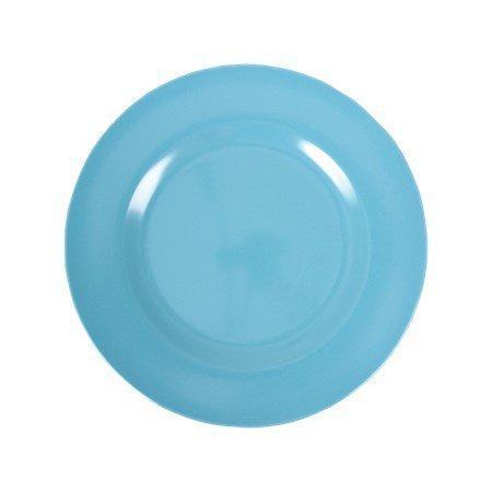 Rice Melamine Round Side Plate Turquoise ø 20 cm