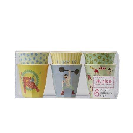 Rice Muki 6-pack Cirkus Sininen/Vihreä