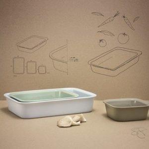 Rig-Tig COOK & serve Uuninkestävä vuoka 3 kpl