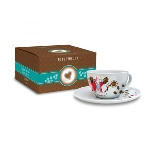 Ritzenhoff Coffee Love Capuccinokuppi Ja Lautanen Marsden
