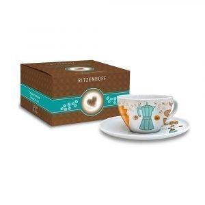 Ritzenhoff Coffee Love Capuccinokuppi Ja Lautanen Marutschke