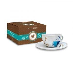Ritzenhoff Coffee Love Capuccinokuppi Ja Lautanen Schiewer