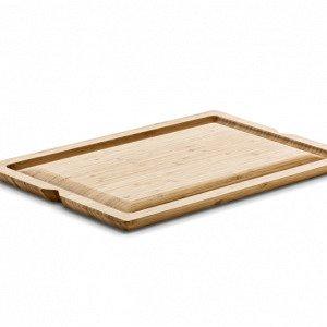 Rosendahl Grand Cru Leikkuulauta Uurretulla Reunalla Bambu 30x45 Cm