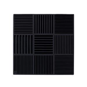 Rosendahl Pannunalunen Musta 18x18 Cm