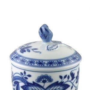 Rosenthal Blau Zwiebelmuster Sokerikulhon Kansi Sininen