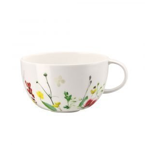 Rosenthal Brillance Fleurs Sauvages Tee / Cappuccinokuppi 25 Cl