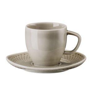 Rosenthal Junto Espressokuppi Vadilla Helmenharmaa 8 Cl