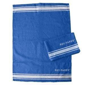 Roy Fares Keittiöpyyhe Sininen 2-Pakkaus