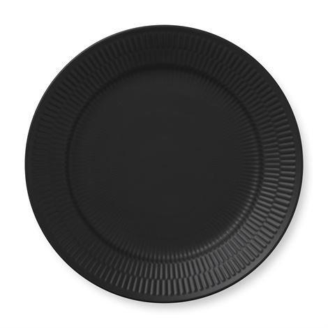 Royal Copenhagen Black Fluted Lautanen Ø 27 cm