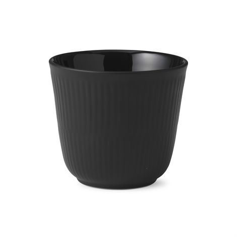 Royal Copenhagen Black Fluted Termomuki 26 cl