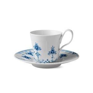 Royal Copenhagen Blue Elements Kuppi Ja Vati Sininen / Valkoinen 25 Cl
