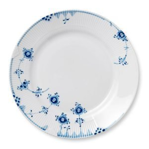 Royal Copenhagen Blue Elements Lautanen L Sininen / Valkoinen