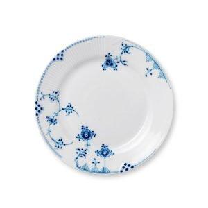Royal Copenhagen Blue Elements Lautanen M Sininen / Valkoinen