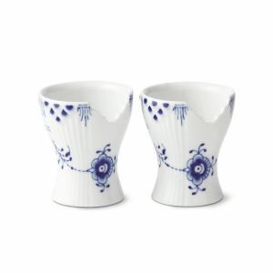 Royal Copenhagen Blue Elements Munakuppi 5 Cm 2-Pakkaus