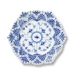 Royal Copenhagen Blue Fluted Full Lace Lautanen 21 Cm