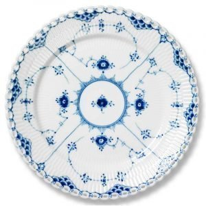 Royal Copenhagen Blue Fluted Full Lace Lautanen 25 Cm