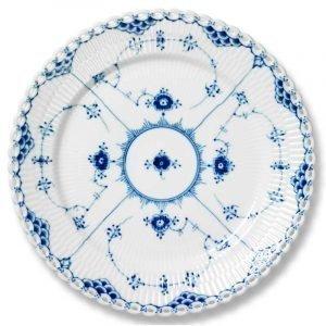 Royal Copenhagen Blue Fluted Full Lace Lautanen 25 Cm