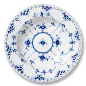 Royal Copenhagen Blue Fluted Full Lace Lautanen Syvä 23 Cm