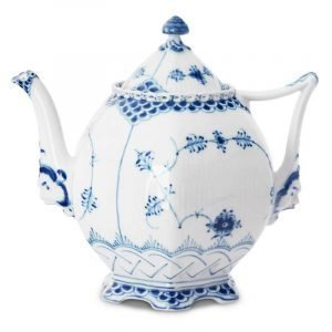 Royal Copenhagen Blue Fluted Full Lace Teekannu 100 Cl