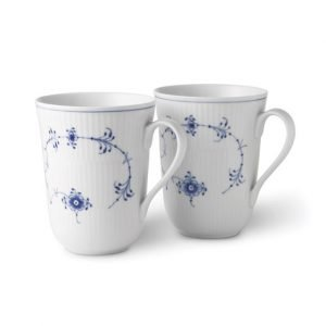 Royal Copenhagen Blue Fluted Kuppi 33 Cl 2-Pakkaus