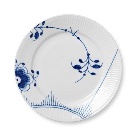 Royal Copenhagen Blue Fluted Mega Lautanen 1 Sininen Ø 22 cm