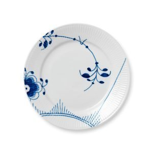 Royal Copenhagen Blue Fluted Mega Lautanen Sininen 220 Mm