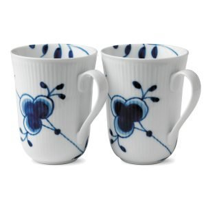Royal Copenhagen Blue Fluted Mega Muki 2 Kpl