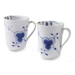 Royal Copenhagen Blue Fluted Mega Muki 33 Cl 2-Pakkaus