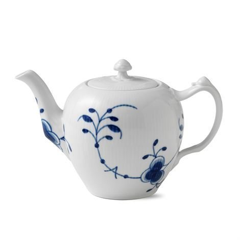 Royal Copenhagen Blue Fluted Mega Sininen Teekannu 100 cl