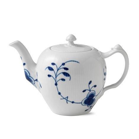 Royal Copenhagen Blue Fluted Mega Sininen Teekannu 100 cl