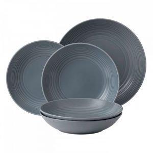 Royal Doulton Maze Grey Pastakulho 5 Set