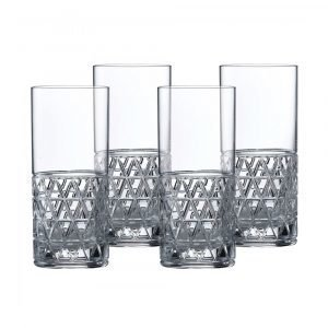 Royal Doulton Oblique Highball Lasi 35 Cl 4 Kpl