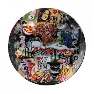 Royal Doulton Street Art Lautanen Collage 27 Cm