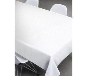 Södahl Pöytäliina 140x270 cm Pleats Valkoinen