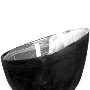 SEA glasbruk Candy Kulho musta