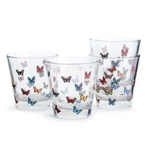 Sagaform Butterfly Lasi 4-Pakkaus