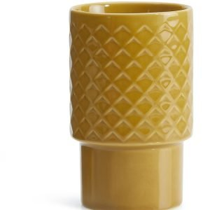 Sagaform Coffee & More Lattemuki Keltainen 40 Cl