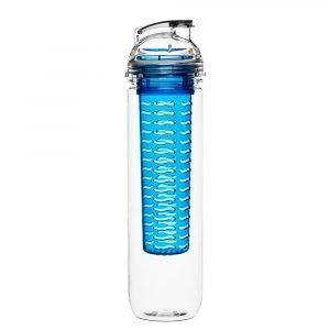 Sagaform Fresh Pullo Hedelmäpatruunalla Sininen