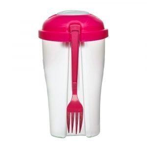 Sagaform Fresh To Go Salaatti Vaaleanpunainen