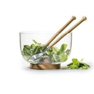 Sagaform Oak Kulho & Salaattiottimet
