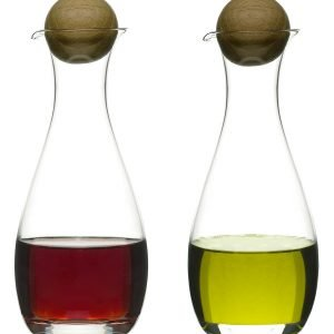Sagaform Oval Oak Öljy Ja Viinietikkapullo 30 Cl