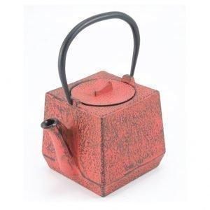 Satake Chiba Teekannu Punainen 0