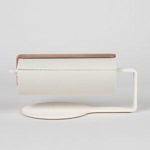 Scandinavian Design Factory Curve Talouspaperinpidike Valkoinen / Kupari